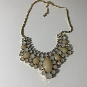 Jem and Jules Necklace With Iridescent Stones